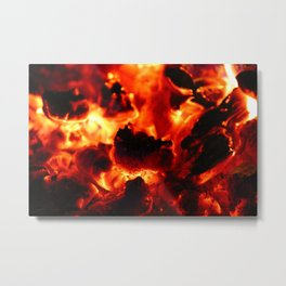 Hot Embers Metal Print
