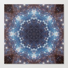 Space Mandala no11 Canvas Print
