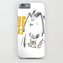 War of the puppies - the barking side of the dog iPhone Case