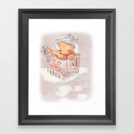 Little Bear Framed Art Print