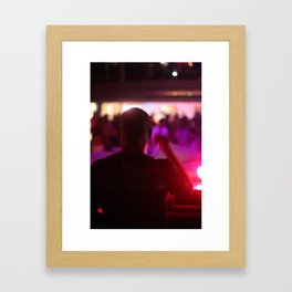 The DJ Experience Framed Art Print