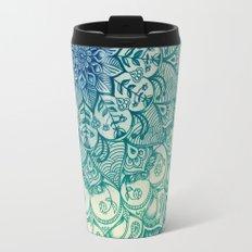 Emerald Doodle Travel Mug