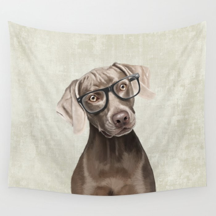 Mr Weimaraner Wall Tapestry