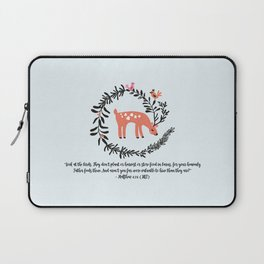 Deer & Birds Laptop Sleeve