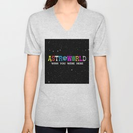 Astroworld - wish you were here Unisex V-Neck