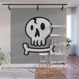 Skull 'N Bones Wall Mural