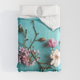 Flowers of Spring Comforters