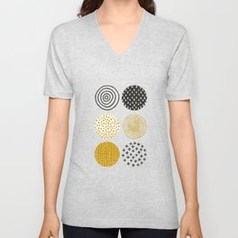 Itsy Bitsy September Rain Unisex V-Neck