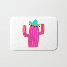Saguaro Cactus - Pink Bath Mat