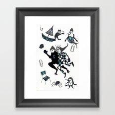 Fuite Du Roi Framed Art Print