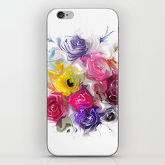 bouquet of roses iPhone & iPod Skin