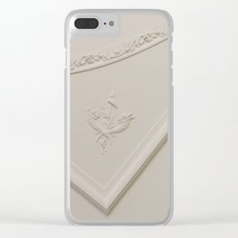 Straight Angle with a Curve Clear iPhone Case