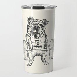 English Bulldog Lift Travel Mug