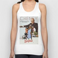 scarface Tank Tops featuring Cheney Scarface by vipez