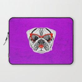 Lady Pug Laptop Sleeve