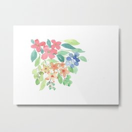Cluster of flowers Metal Print