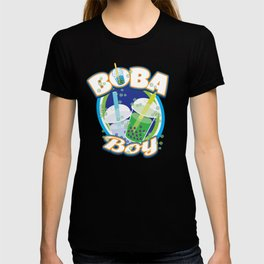 Funny Boba Drink Gift for Asian Bubble Tea Drinkers Taiwanese Tapioca Balls Sweet Drink T-shirt