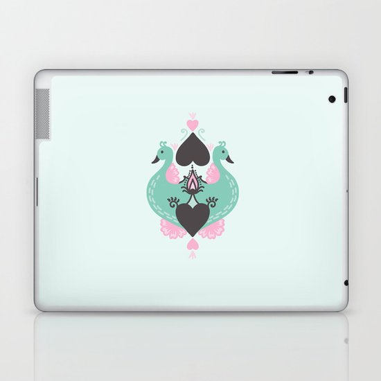 Pretty Peacocks Laptop & iPad Skin