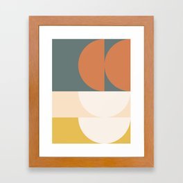 Abstract Geometric 02 Framed Art Print