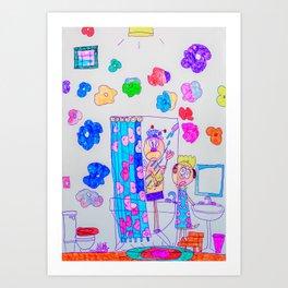 Kelly Bruneau #21 Art Print