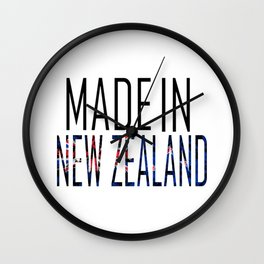 Made In New Zealand Wall Clock