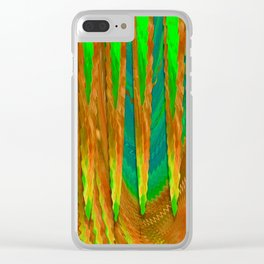 In Abstracto Clear iPhone Case