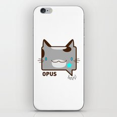 Convo Cats! Opus iPhone & iPod Skin