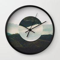 circle Wall Clocks featuring Circle by Adrian Lungu