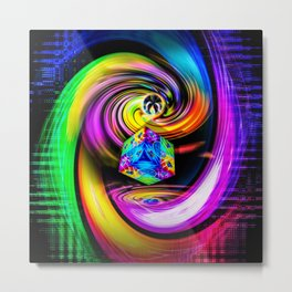 Rainbow Creations Metal Print
