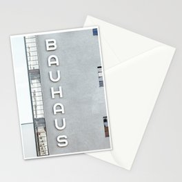 Bauhaus Building in Dessau Stationery Cards
