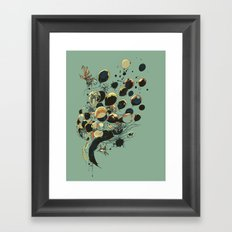 Floating Memories Framed Art Print