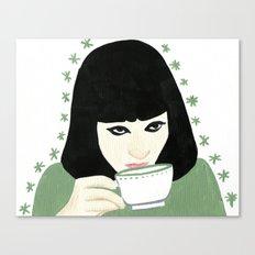 Anna Karina Canvas Print