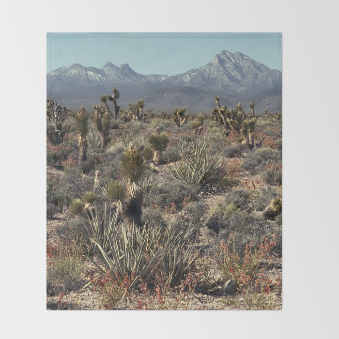 Cold Creek, Nevada Throw Blanket