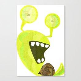 Snaily Snail Canvas Print