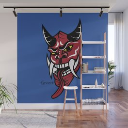 Oni Wall Mural