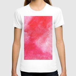 Red Watercolor Wall Art T-shirt