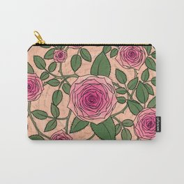 You Are a Rose in Orange Carry-All Pouch
