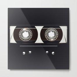 retro old tapes Metal Print