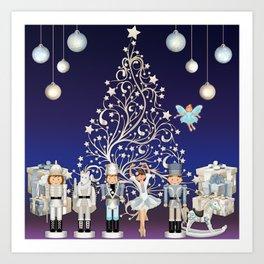 Christmas time - Nutckracker Story on Christmas eve Art Print