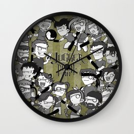 Jugger an Dubh Linn #1 Wall Clock