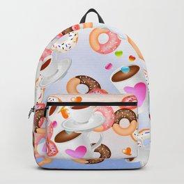 Coffee and Doughnuts En L'air Backpack