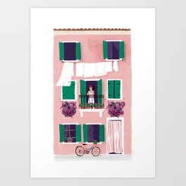 Afternoon in Burano Art Print