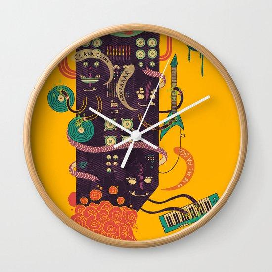 Power Trio Wall Clock