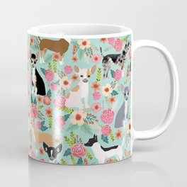 Chihuahua floral dog breed cute pet gifts for chiwawa lovers chihuahuas owners Coffee Mug