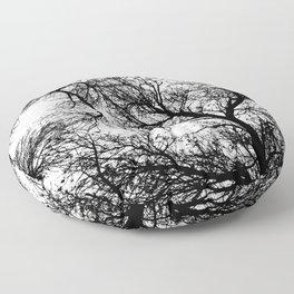 Branches 4 Floor Pillow