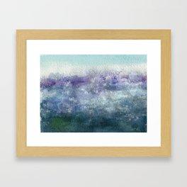 Sea Smoke Framed Art Print