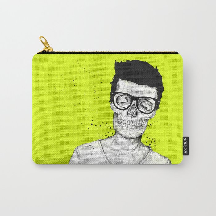 hipsters not dead Carry-All Pouch