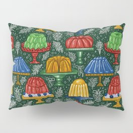 Vintage Jello Bundt Pattern  Pillow Sham