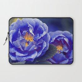 Blue Roser Laptop Sleeve