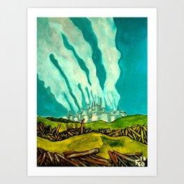 Kohlekraftwerk Art Print